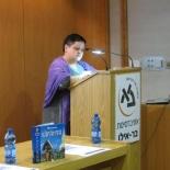 """ד""""ר ג'ינה פנה, מנהלת המכון הרומני לתרבות (תל-אביב)"""