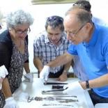 Prof. Margaret Olin, Dr Mirjam Rajner, Dr Ilia Rodov, Prof. Shalom Sabar